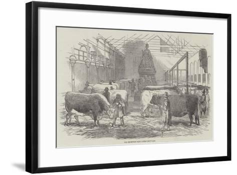 The Smithfield Club Cattle Show-Yard--Framed Art Print