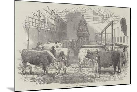 The Smithfield Club Cattle Show-Yard--Mounted Giclee Print