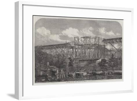 Progress of the Great Exhibition Building--Framed Art Print