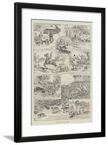 Mr Podger's Vow and its Fulfilment--Framed Art Print