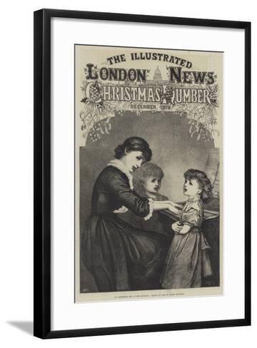 On Christmas Day in the Morning--Framed Art Print