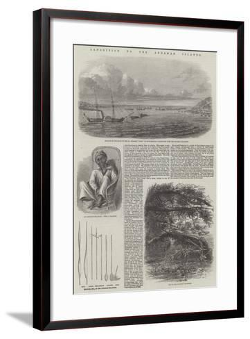Expedition to the Andaman Islands--Framed Art Print