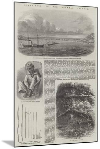 Expedition to the Andaman Islands--Mounted Giclee Print