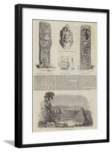Extinct Cities of Central America--Framed Art Print