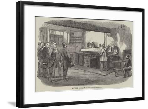 Soyer's Barrack Cooking Apparatus--Framed Art Print