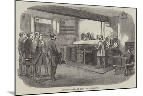 Soyer's Barrack Cooking Apparatus--Mounted Giclee Print