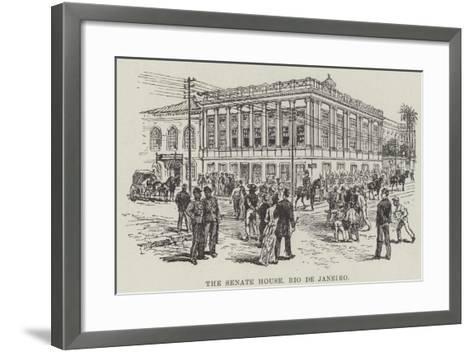 The Senate House, Rio De Janeiro--Framed Art Print