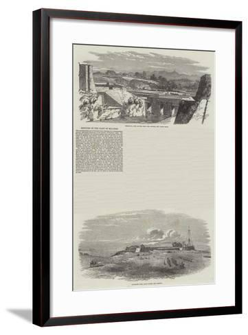 Sketches on the Coast of Malabar--Framed Art Print