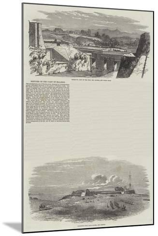 Sketches on the Coast of Malabar--Mounted Giclee Print