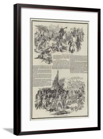 Death of the Duke of Wellington--Framed Art Print