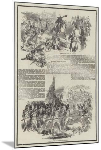 Death of the Duke of Wellington--Mounted Giclee Print