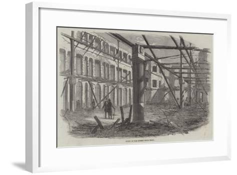 Ruins of the Surrey Music Hall--Framed Art Print