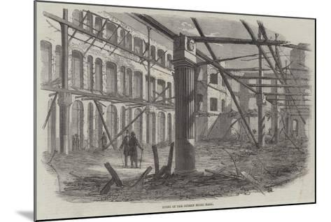 Ruins of the Surrey Music Hall--Mounted Giclee Print