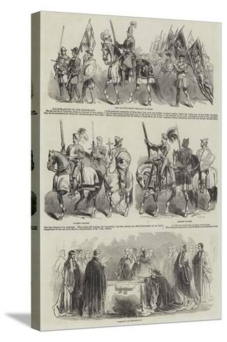 Illustrations of the Mayoralty--Stretched Canvas Print