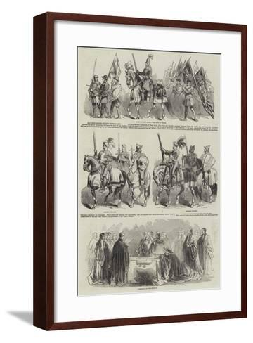 Illustrations of the Mayoralty--Framed Art Print