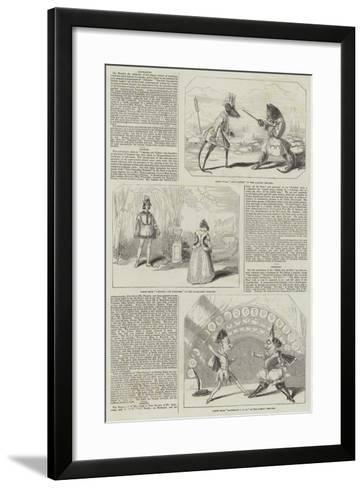 Pantomimes and Christmas Pieces--Framed Art Print