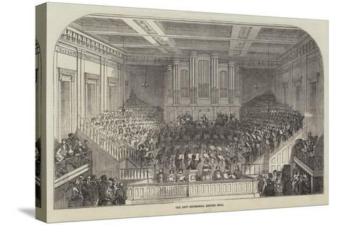 The New Orchestra, Exeter Hall--Stretched Canvas Print