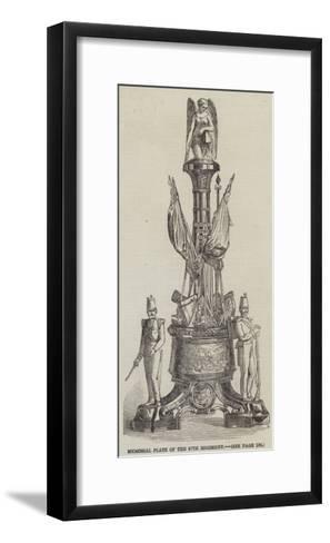 Memorial Plate of the 97th Regiment--Framed Art Print