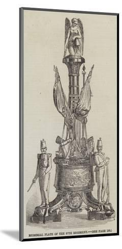 Memorial Plate of the 97th Regiment--Mounted Giclee Print