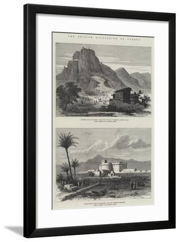 The British Occupation of Cyprus--Framed Art Print