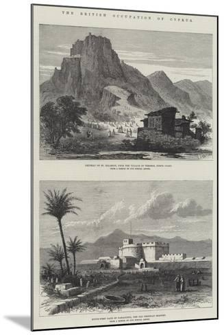 The British Occupation of Cyprus--Mounted Giclee Print