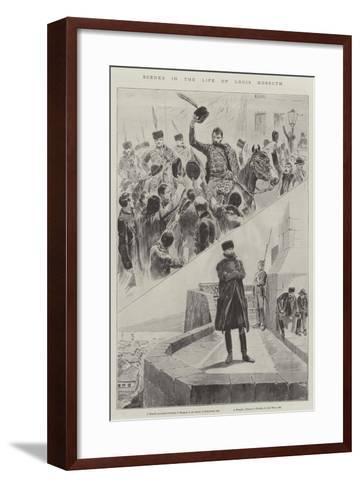 Scenes in the Life of Louis Kossuth--Framed Art Print
