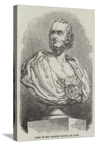 Bust of Sir Charles Napier, by Park--Stretched Canvas Print