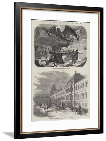 Inauguration of Louis Napoleon--Framed Art Print
