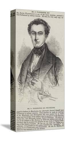 Mr D Waddington, Mp for Maldon--Stretched Canvas Print