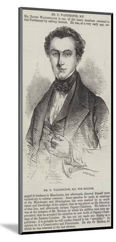 Mr D Waddington, Mp for Maldon--Mounted Giclee Print