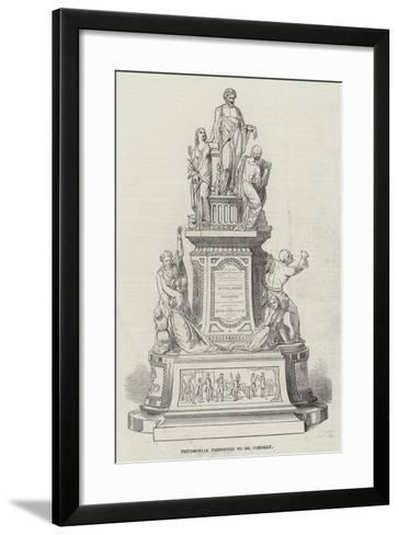 Testimonial Presented to Dr Conolly--Framed Art Print
