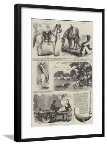 Sketches of Native Life in India--Framed Art Print