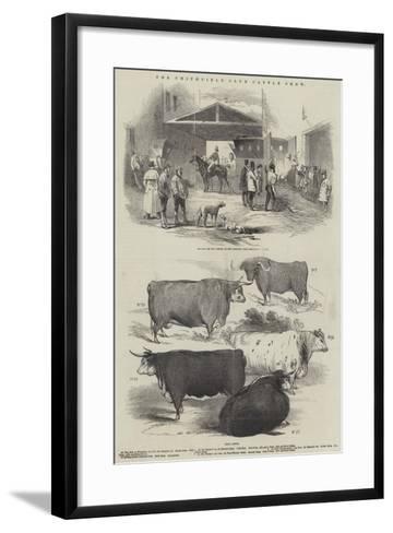 The Smithfield Club Cattle Show--Framed Art Print