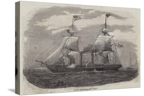 The New Cunard Steam-Ship Arabia--Stretched Canvas Print