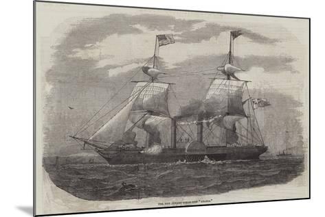The New Cunard Steam-Ship Arabia--Mounted Giclee Print