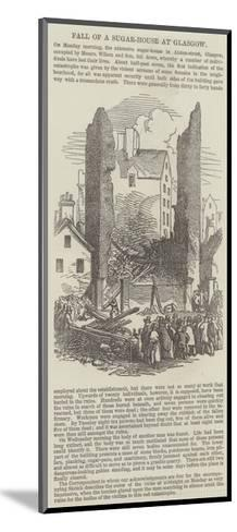 Fall of a Sugar-House at Glasgow--Mounted Giclee Print