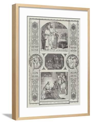 Christmas Eve and Christmas Day--Framed Art Print