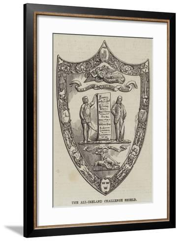 The All-Ireland Challenge Shield--Framed Art Print