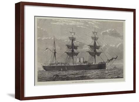 HMS Nelson, Double Screw, Ironclad--Framed Art Print
