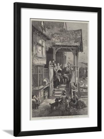Spring, the Return of the Swallows--Framed Art Print
