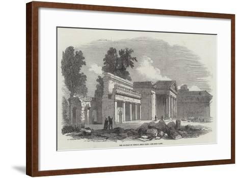 The Chateau of Neuilly, Near Paris--Framed Art Print