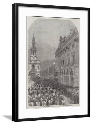 Funeral of the Duke of Wellington--Framed Art Print