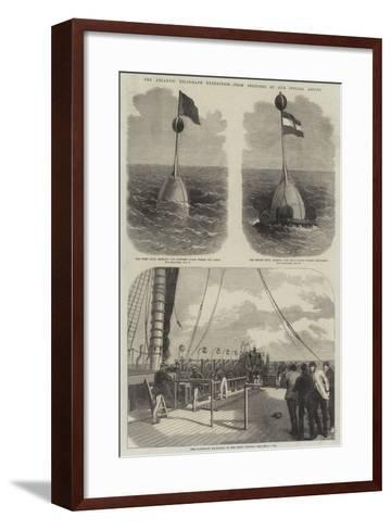 The Atlantic Telegraph Expedition--Framed Art Print