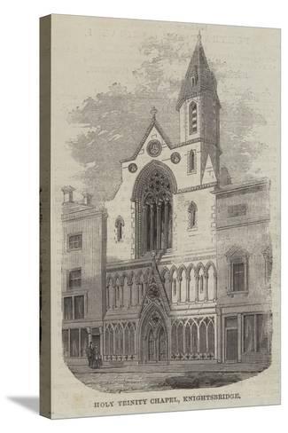 Holy Trinity Chapel, Knightsbridge--Stretched Canvas Print