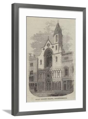 Holy Trinity Chapel, Knightsbridge--Framed Art Print