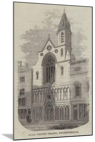 Holy Trinity Chapel, Knightsbridge--Mounted Giclee Print