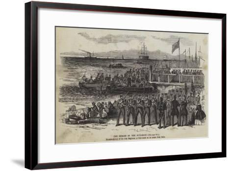 The Heroes of the Sutledge--Framed Art Print