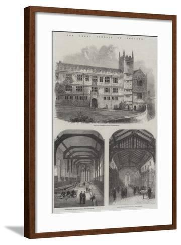The Great Schools of England--Framed Art Print