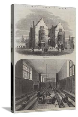 The Great Schools of England--Stretched Canvas Print