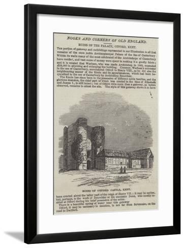 Ruins of Otford Castle, Kent--Framed Art Print